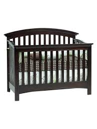 Espresso Convertible Crib by Bliss Curved Top Crib By Baby Cache At Gilt