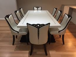 8 Seat Dining Room Table by Plain Ideas Dining Table 8 Chairs Plush Design Dining Room Tables