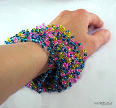 air bracelet buy gift crochet necklace bracelet boho style knitting bead