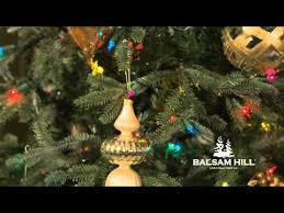 balsam hill color clear lights balsam hill fraser fir christmas tree multi color lights close up