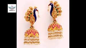 gold earrings images gold earrings designs fashion9tv