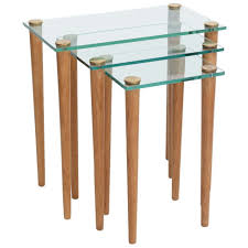 crate and barrel nesting tables klubbo nesting table set table setting design