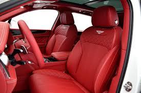 2017 bentley bentayga red interior 2017 bentley bentayga w12