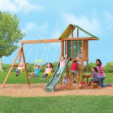 furniture backyard playsets cedar swing sets on inspirations