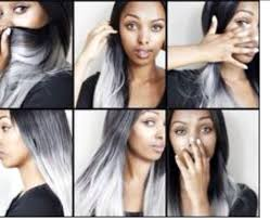 ombre crochet hairstyles black women with gray ombre crochet google zoeken hairstyles