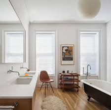 seasonal style hot bathroom trends to try out this summer gorgeous bathroom combines scandinavian style with the living bathroom trend design buck projects