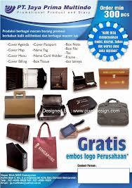 membuat iklan tas contoh desain brosur iklan tas rapi menarik desain dan contoh