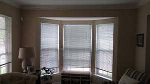 Window Treatments Dining Room Window Treatment For Full Length Windows And Bay Window