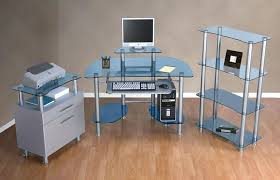 Glass Top Computer Desks For Home Office Desk Office Desks Staples Desk Glass Top Computer For