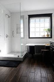 farmhouse bathrooms ideas minimalist farmhouse bathroom with wood floors