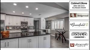Greenfield Kitchen Cabinets scottsdale az home kitchen u0026 bath remodel by cabinet u0026 stone youtube