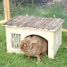 ceramic nature rabbit table l small pet cage accessories