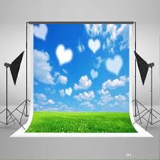 white photography backdrop 2017 5x7ft150x220cm blue sky photo backdrops white cloud