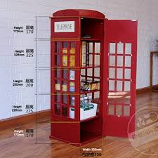 telephone booth brand new london telephone booth shelf 190 with fully assembled