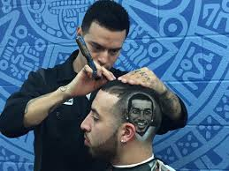 sam antonio barber does cutting edge work on spurs haircuts