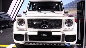mercedes g class interior 2016 2016 mercedes benz g class g65 v12 exterior and interior