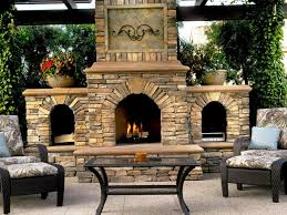 outdoor stone fireplace kits home fireplaces firepits perfect