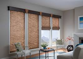 window shades roller blind in flint colour to french doors for a