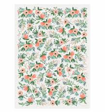 flower wrapping paper wildflower wrapping sheets by rifle paper co made in usa