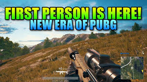 pubg fpp first person pubg is here and it s amazing battlegrounds fpp