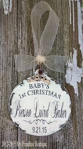 Custom Baby Ornaments 171 Best Christmas Ornaments Personalized Images On Pinterest