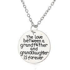 and granddaughter necklace family necklace forever pendant jewellery