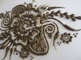 arabic flower henna mehndi design tutorial for feet u0026 hand
