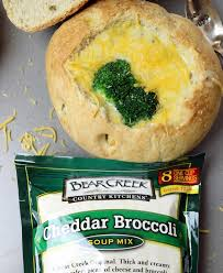 broccoli cheddar soup bread bowl wanna bite