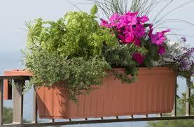 kids metal deck railing planters amazing banister planters metal
