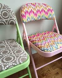Folding Chair Fabric How To Refinish Folding Chairs