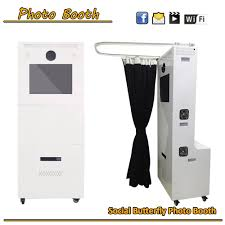 Portable Photo Booth Light Weight Photobooth Flight Case Portable Photo Booth Enclosure