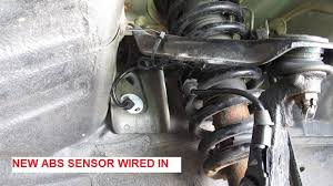 honda abs sensor replacement 7 steps