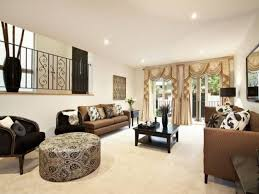 decor for brown black and cream living room house design and