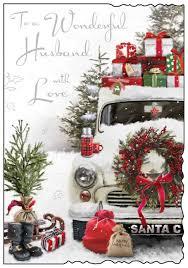 jonny javelin husband christmas card xmas tree xmas presents