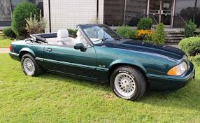 1990 ford mustang 1990 ford mustang lx 5 0 7 up edition convertible for sale on bat