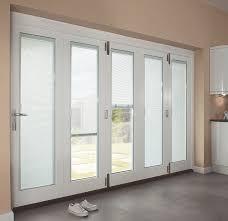 french doors built in blinds door decoration