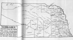 County Map Of Mississippi Nebraska County Map
