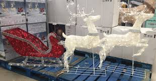 Outdoor Christmas Decorations Reindeer And Sleigh Reindeer Sleigh 400 Led Lights Indoor Outdoor Garden Christmas