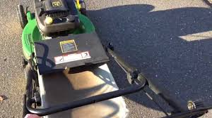 john deere jx75 lawn mower overview youtube