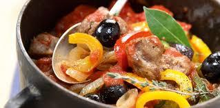cuisiner sauté de porc sauté de porc au poivron facile recette sur cuisine actuelle