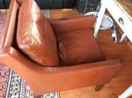 Danish Leather Armchair Vintage Danish Leather Armchairs In Wimborne Dorset Gumtree