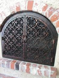 Arched Fireplace Doors by Forged Iron Fireplace Doors Catherine U0027s Pin Pinterest