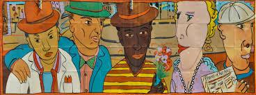 friends of post alley mural u2013 billy king 2002 u2013 pioneersquare