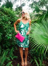 banana leaf dress in vero beach i believe in pink
