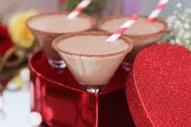 chocolate martinis valentine u0027s day chocolate hazelnut milkshake martinis