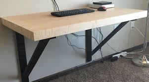 Diy Standing Desk by Get Idea Best Diy Desk For Pc Desktop Finding Desk