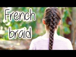 how to i french plait my own side hair how to french braid 14 steps with pictures wikihow