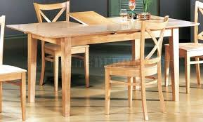 butterfly dining room table dining room table leaves natural finish modern dining set w