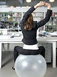 Desk Chair Workout Desk Yoga Ball Office Chair Reviews Technogym Wellness Ball Yoga