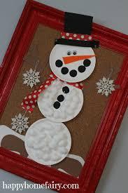 easy giant snowman craft happy home fairy